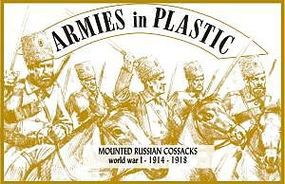 ArmiesInPlastic WWI 1914-18 Russian Cossacks Plastic Model Military Figure 1/32 Scale #5532