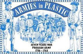 ArmiesInPlastic 7 Years War 1756-63 Prussian Army (16) Plastic Model Military Figure 1/32 Scale #5544