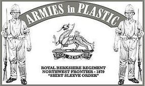 ArmiesInPlastic Northwest Frontier Royal Berkshire Regiment Plastic Model Military Figure 1/32 Scale #5571