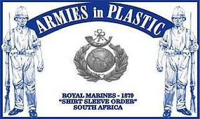 ArmiesInPlastic South Africa 1879 Royal Marines (18) Plastic Model Military Figure 1/32 Scale #5574