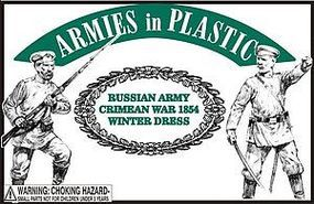 Crimean War 1854 Russian Army Winter Dress Plastic Model Military Figure 1/32 Scale #5583