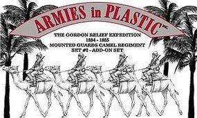 ArmiesInPlastic Gordon Relief Expedition Camel Regiment Set #2 Plastic Model Military Figure 1/32 #5585