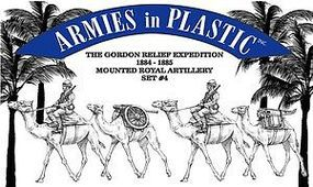 ArmiesInPlastic Royal Camel Artillery Set #4 Plastic Model Military Figure 1/32 Scale #5590