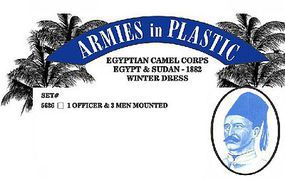 ArmiesInPlastic Egyptian Camel Corps Egypt & Sudan Winter Dress Plastic Model Military Figures 1/32 #5626