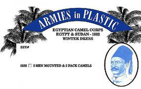 ArmiesInPlastic Egyptian Camel Corps Egypt & Sudan Winter Dress Plastic Model Military Figures 1/32 #5628