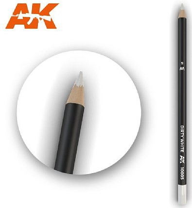 AK (bulk of 5) Weathering Pencils- Dirty White