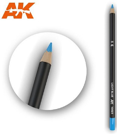 AK (bulk of 5) Weathering Pencils- Light Blue