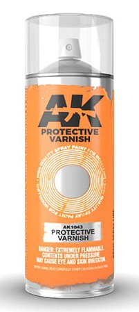AK Protective Lacquer Varnish 200ml Spray