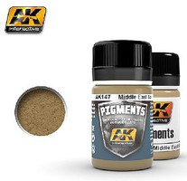 AK Middle East Soil Pigment 35ml Bottle Paint Pigment #147