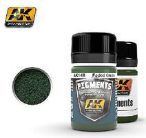 AK Faded Green Pigment 35ml Bottle Paint Pigment #148