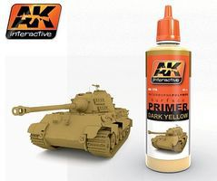 AK Dark Yellow Acrylic Primer 60ml Bottle Hobby and Model Acrylic Paint #176