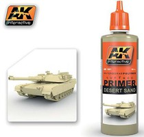 AK Desert Sand Acrylic Primer 60ml Bottle Hobby and Model Acrylic Paint #181