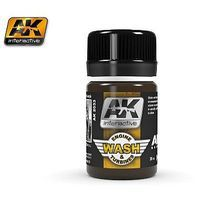 AK Air Series Wash for Aircraft Engine 35ml Bottle Hobby and Model Enamel Paint #2033