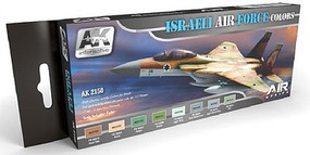 AK Air Series- Israeli Air Force Acrylic Paint Set (8 Colors) 17ml Bottles