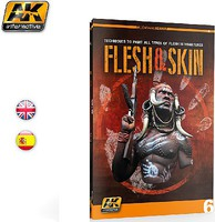 AK Flesh & Skin Techniques for Painting Miniatures Book