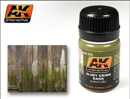 AK Slimy Grime Dark Enamel Paint 35ml Bottle Hobby and Model Enamel Paint #26