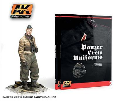 AK Interactive Panzer Crew Uniforms Painting Guide Book -- Hobby and Model Paint Supply -- #272