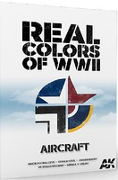 AK Real Colors of WWII Aircraft Book