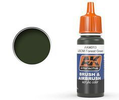 AK USMC Forest Green NR28 Acrylic Paint 17ml Bottle Hobby and Model Acrylic Paint #4013