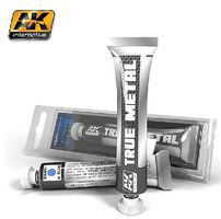 AK True Metal Wax Metallic Blue 20ml Tube Hobby and Model Enamel Paint #451