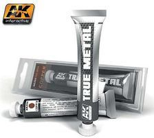 AK True Metal Wax Copper 20ml Tube Hobby and Model Enamel Paint #454