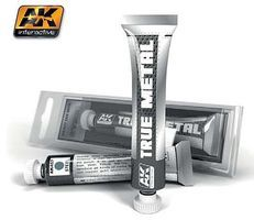 AK True Metal Wax Steel 20ml Tube Hobby and Model Enamel Paint #457