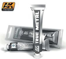 AK True Metal Wax Silver 20ml Tube Hobby and Model Enamel Paint #458