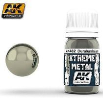 AK Xtreme Metal Duraluminum Metallic Paint Hobby and Model Acrylic Paint #482