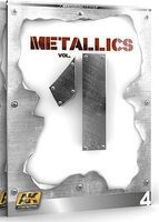 AK Metallics Vol.1 Learning Series Book How To Model Book #507
