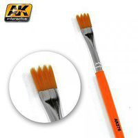 AK Saw Shape Weathering Brush Hobby and Model Paint Brush #576
