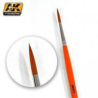 AK Fine Long Weathering Brush Hobby and Model Paint Brush #577