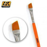 AK Diagonal Weathering Brush Hobby and Model Paint Brush #578