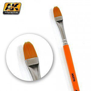 AK Rounded Weathering Brush Hobby and Model Paint Brush #579