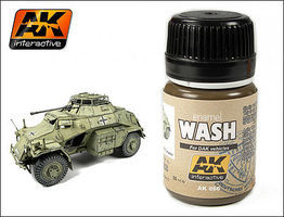 AK DAK Vehicle Wash Enamel Paint 35ml Bottle Hobby and Model Enamel Paint #66