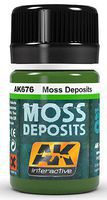 AK Moss Deposit Enamel Paint 35ml Bottle Hobby and Model Enamel Paint #676