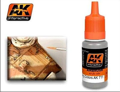 AK Interactive Chipping Color Effects Acrylic Paint 17ml Bottle -- Hobby and Model Acrylic Paint -- #711