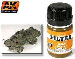 AK NATO Tank Filter Enamel Paint 35ml Bottle Hobby and Model Enamel Paint #76
