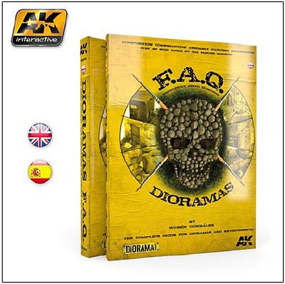 AK FAQ Dioramas Complete Guide Book for Building Detailed Dioramas