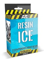 AK Diorama Series- Resin Ice Effect 2-Components Epoxy 180ml