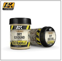 AK Diorama Series- Terrains Dry Ground Texture Acrylic 250ml Bottle