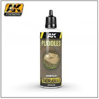AK Diorama Series- Puddles Effects Liquid Crystalline Acrylic 60ml Bottle