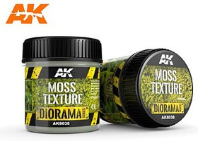 AK Diorama Series- Moss Texture Acrylic 100ml Bottle