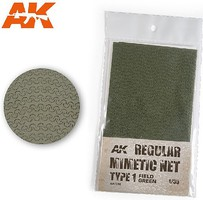 AK Camouflage Net Type 1 Field Green