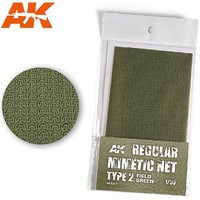AK Camouflage Net Type 2 Field Green