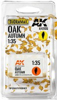 AK Oak Autumn Leaves Hobby and Model Military Diorama #8105