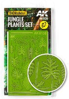 AK Diorama Series- Realistic Jungle Plants set