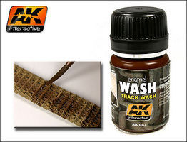 AK Track Wash Enamel Paint 35ml Bottle Hobby and Model Enamel Paint #83