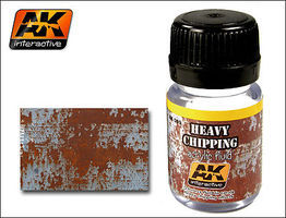AK Heavy Chipping Effects Acrylic Paint 35ml Bottle Hobby and Model Acrylic Paint #89