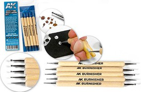AK Sculpting Burnishers Set (5)
