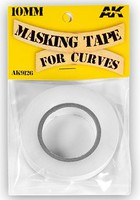 AK Masking Tape for Curves 10mm